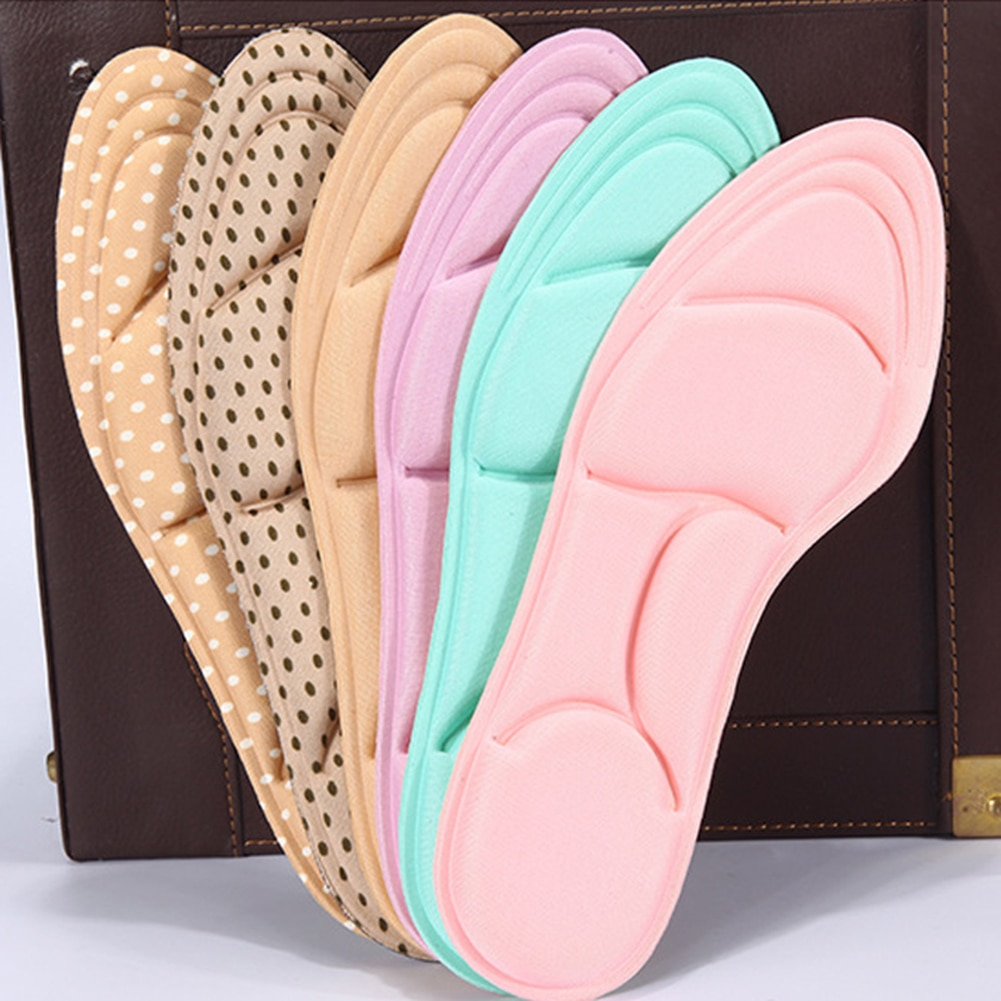 5D Orthotic Insole Arch Support Orthopedic Insoles For Shoes Flat Foot Feet Care Sole Shoe Orthopedi