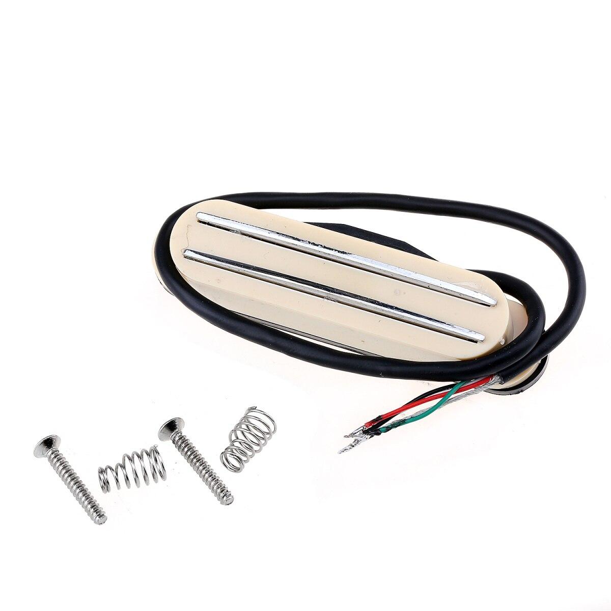 Musiclily Hot Rail doble guitarra de alta salida sola bobina tamaño Humbucker...