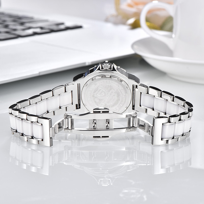 PAGANI DESIGN New Sports Fashion Men And Women's Quartz Ceramic Watches, Luxury Accessories, Waterproof, Japanese VJ32 Movement enlarge