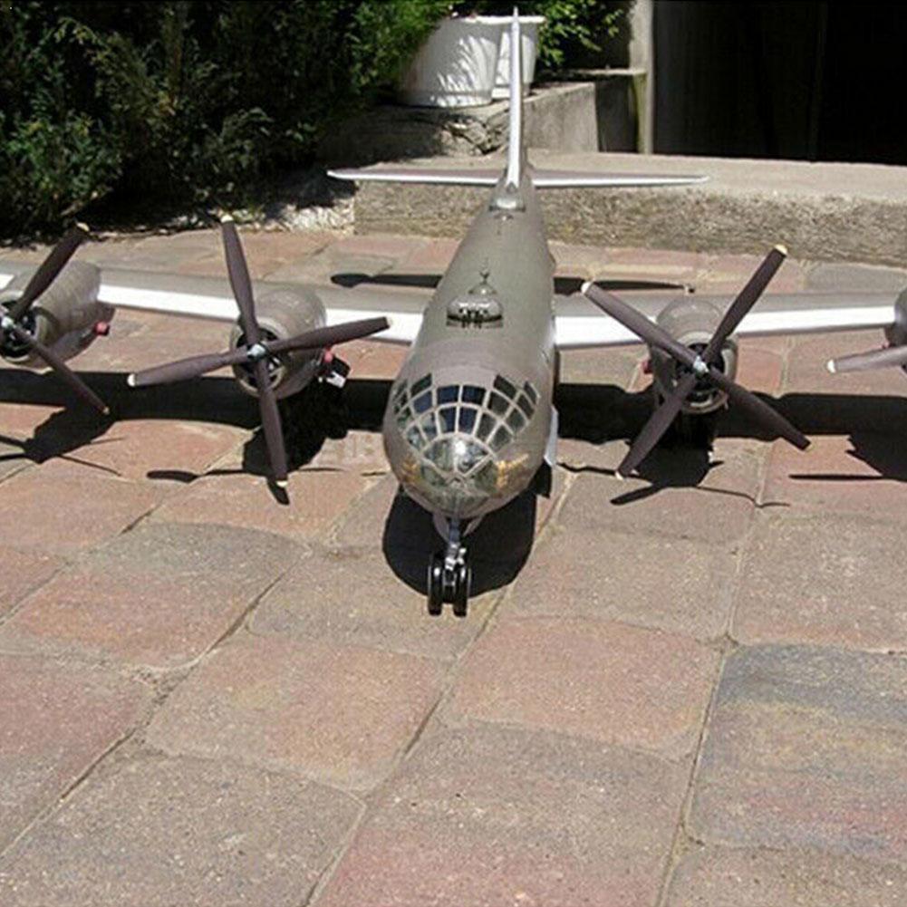 147 DIY modelo de papel 3D Kit de B-29 de juguete súper fortaleza para decoración hecho a mano modelo de papel para niños avión bombardero artesanal H8F3