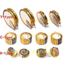1PCS V C H type 5.5V Super capacitor 0.047F 0.1F 0.22F 0.33F 0.47F 1.0F 1.5F 4.0F 5.0F 1F 4F 5F Button Farad capacitor