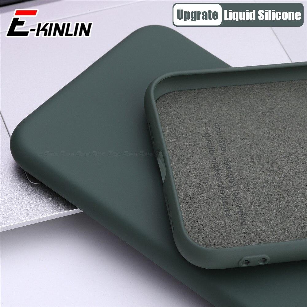 Soft TPU Thin Slim Liquid Silicone Phone Case For Meizu 17 16T 16Xs 16s Pro 16 X 16th Plus Original