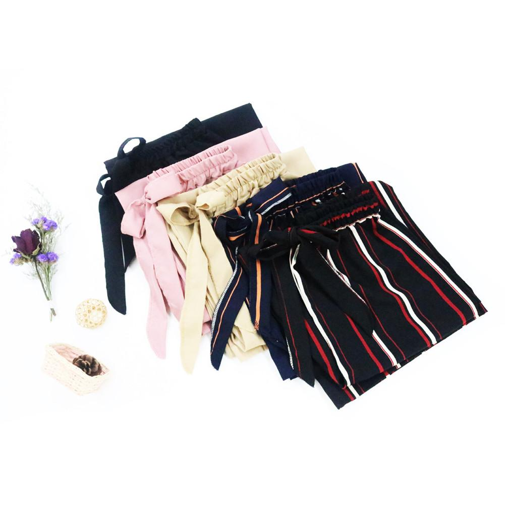 Wide Leg SweatPants Women Trousers Fashion Women Solid Color/Striped Drawstring Wide Leg Trousers Loose Fit Pants Plus Size
