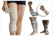 New Elastic Winding Sports Bandage Knee Pads Leggings Running Fitness Football Basketball Weightlifting