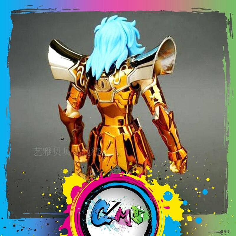 CMT w magazynie JI MODEL EX Saint Seiya Ex cesarz posejdon figurka mit Metel zbroja zabawki rysunek