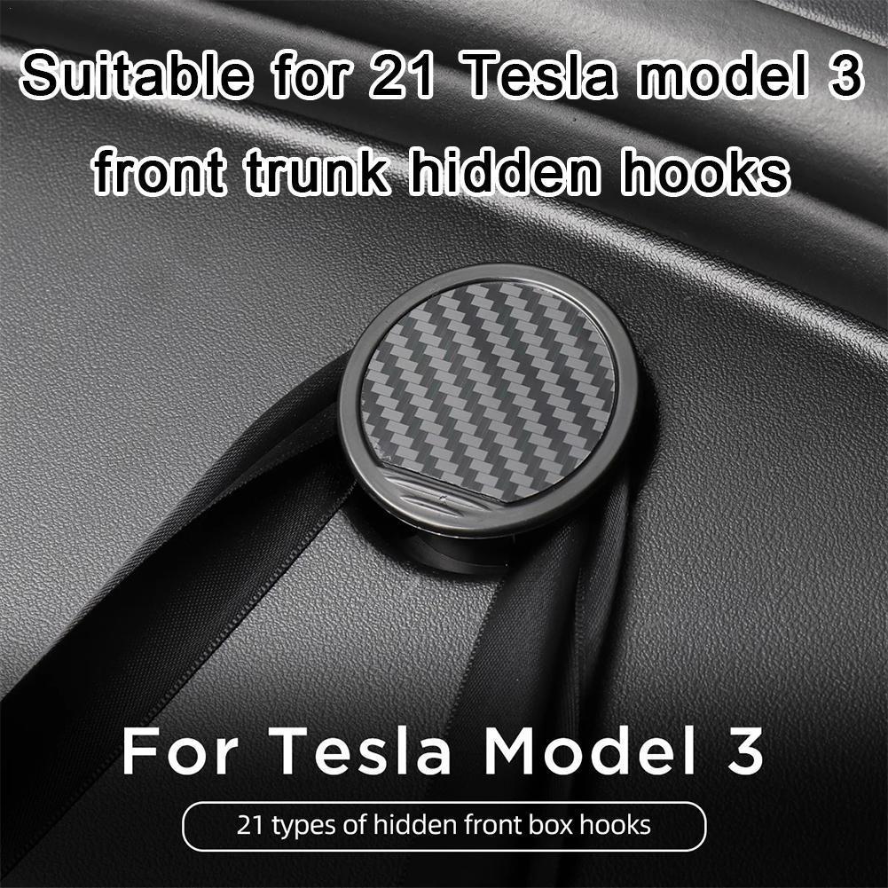 2 шт., автомобильные аксессуары для салона Tesla Model 3 2021