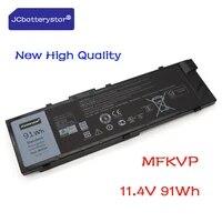 JCbatterystar Neue Original 11 4 V 91WH Laptop Batterie 0FNY7 T05W1 MFKVP Fur Dell Fur Prazision 7510 7710 M7710 7720