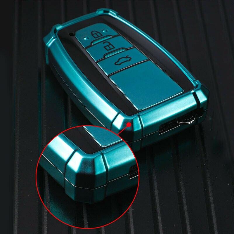 Alta qualidade tpu chave do carro capa para toyota chr C-HR prado camry avalon prius corolla rav4 avalon chaveiro holde