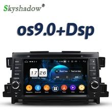 DSP 1024*600 Android 9,0 2G + 16G 4 ядра Автомобильный мультимедийный dvd-плеер GPS карта RDS радио wifi Bluetooth 5,0 для Mazda CX-5 2011 2012