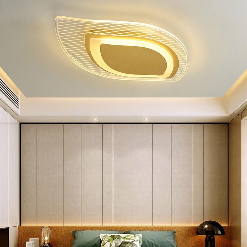 Золото, белый; Комплект люксовых туфель светодиодный люстры для Спальня Гостиная Кухня Studyroom домашние декоративные AC90-260V осветительных при...