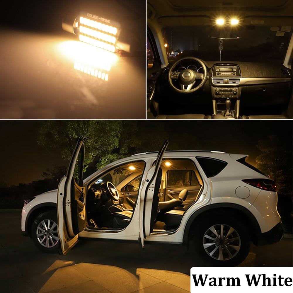BMTxms Canbus Vehicle LED Interior Map Dome Trunk Light Kit For Skoda Octavia Superb Fabia MK1 MK2 MK3 1 2 3 Sedan Combi