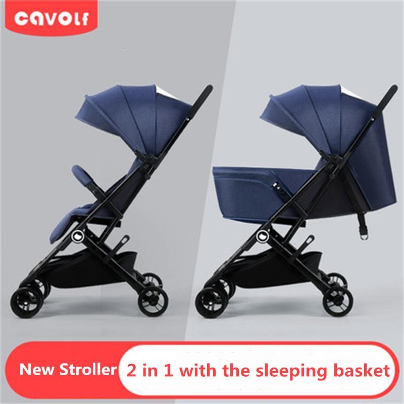 4.3kg Light Baby stroller Portable baby Pushchair shock absorber Buggy newborn umbrella Carriage Traveling kid car