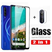 2 in 1 MiA3 Protective Glass for Xiaomi Mi A3 Screen Protector for Xiaomi Mi A2 Lite MiA2lite light MiA2 Lens Film Tempered Glas