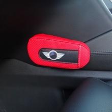 Cojín de cuero suave para pierna almohadilla para reposabrazos Interior para Mini Cooper JCW R52 R55 R56 R57 R60 F55 F56 Clubman Countryman