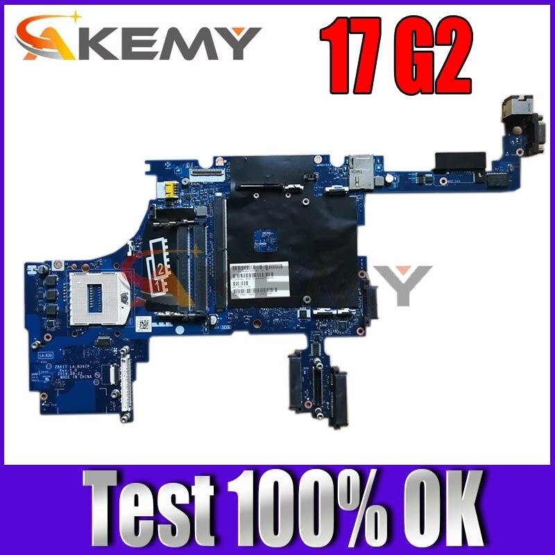 Akemy ل HP Zbook 17 G2 كمبيوتر محمول اللوحة اللوحة ZBK17 LA-B391P PGA947 HM7 DDR3 784213-501 784213-001 100% اختبار العمل