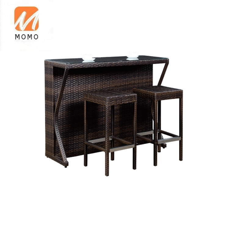 Мебель для сада наборы из ротанга обеденный стол и стулья из ротанга садовая барная мебель
