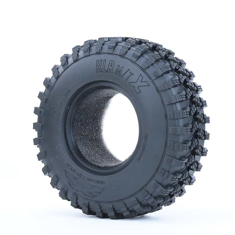 4PCS 1.9-inch 106mm Rubber Tires for Traxxas 1/10 SCX10 II Axial 90046 90047 Trx-4 TRX4 Trx6 RC4WD D90 D110 TF2 RC Car enlarge