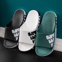 summer mens slippers ladies slippers fashion trends outer wear couples flip flops home indoor slippers couple home slippers