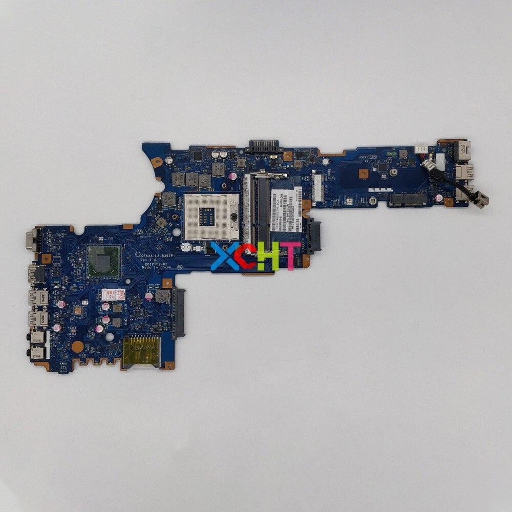 for Toshiba Satellite P850 P855 K000135160 QFKAA LA-8392P REV:1.0 Laptop Motherboard Mainboard System Board Tested