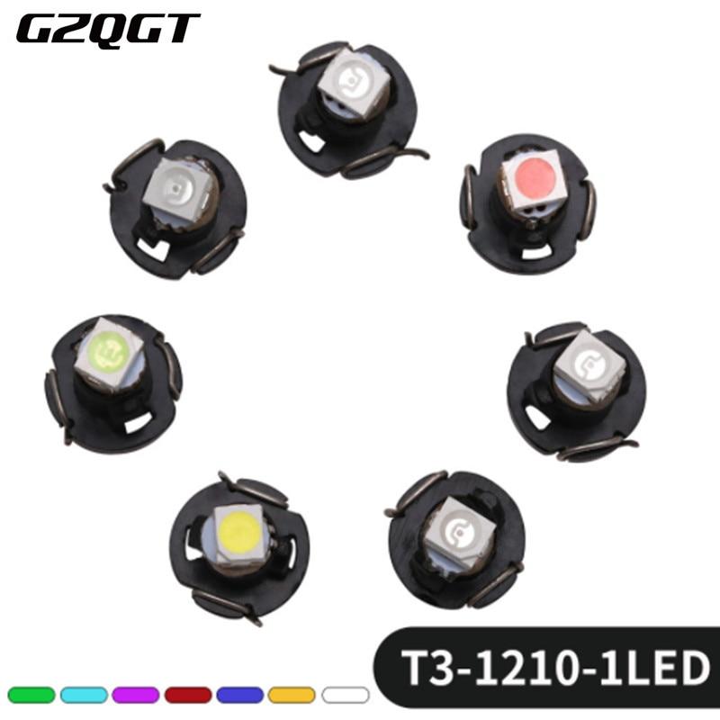 10 шт. лампы 5050 SMD Автомобильная панель с предупреждающим индикатором осветительная приборная панель T3 T4.2 T4.7 LED