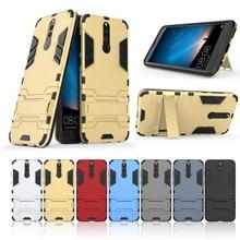 Homem De Ferro híbrido Stand Caso Capa Protetora Para Huawei Nova 2 2S 3 3i 2i 4 5 5i 5Z Pro Plus Y3 Y5 Y7 Y9 Prime Maimang 4 5 6