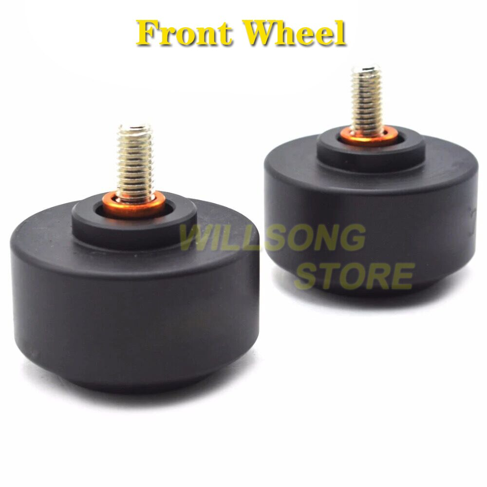 Front/Rear Wheel Protector Axle Fork Crash Slider For KTM DUKE 125/200/390 Motorcycle Accessories Parts Falling Protection enlarge