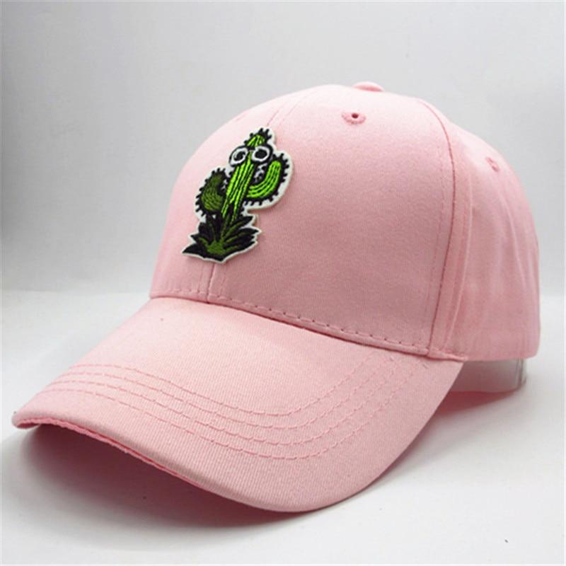 cactus embroidery cotton Casquette Baseball Cap hip-hop cap Adjustable Snapback Hats for kids men women 26