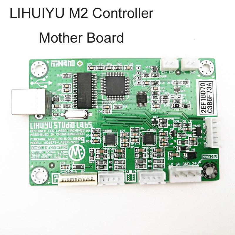 1 шт. LIHUIYU M2 Nano лазерный контроллер материнская основная плата системы для Co2 гравировальный станок для резки 3020 4030 6040 гравер резак