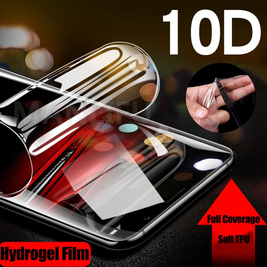 10D suave TPU Protector de pantalla para ZTE nubia Z17 M2 Lite TPU hidrogel de película para ZTE nubia Axon 10 Pro M2 Lite