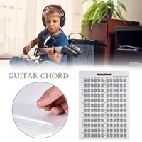 guitar practice charts electric guitar practice chords and scale chart stickers guitar lovers learning aid tags