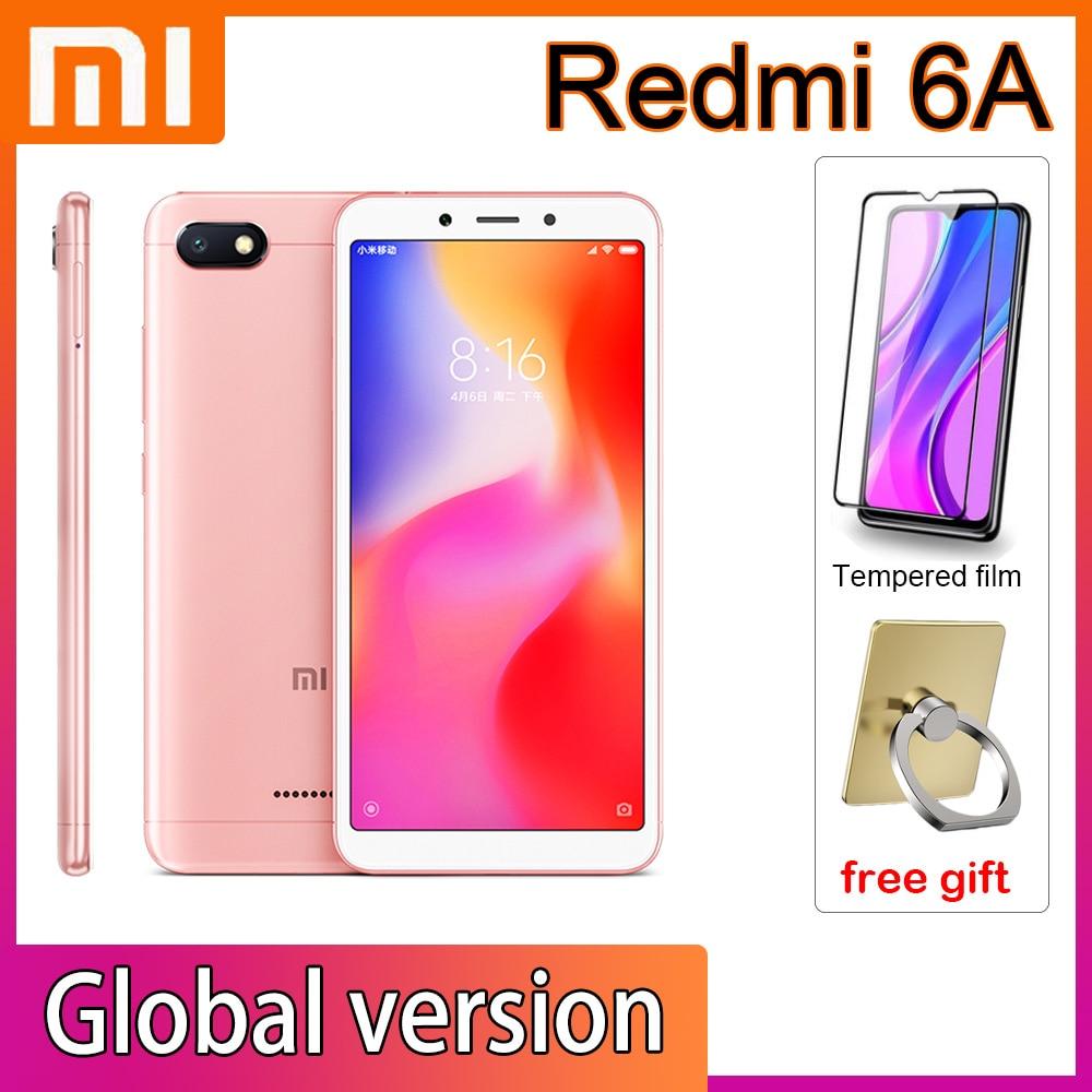 Xiaomi Redmi 6A Smartphone 3GB 32GB Google Play Cellphone Helio A22 Processor with Global Framework 3000mAh Face Unlock