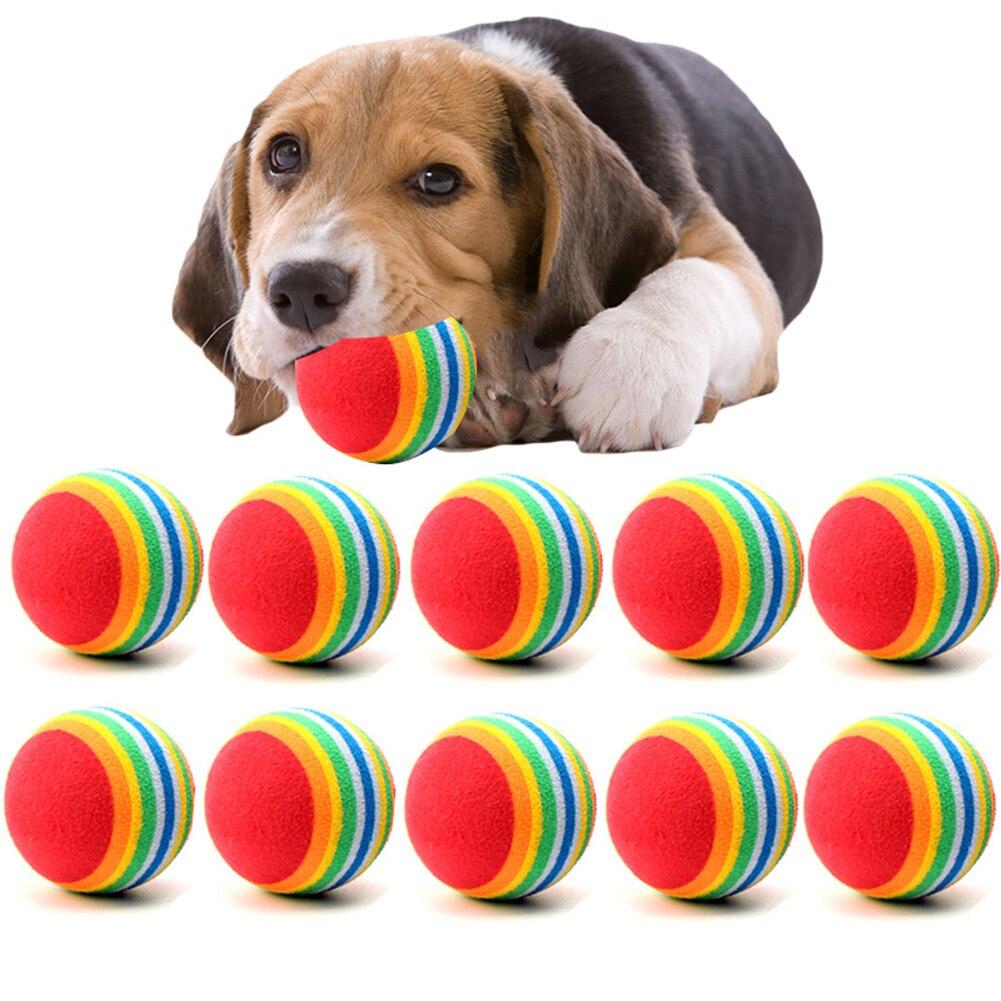 Nueva EVA masticable para perros Bola de juguete 35/63cm mascotas interactivas Bola...