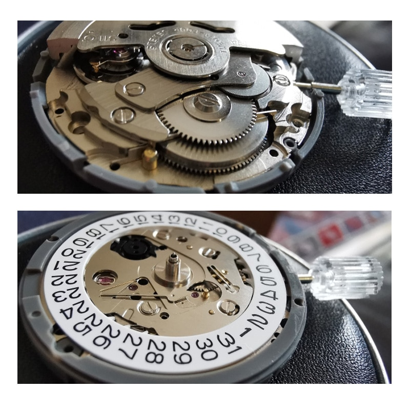 Seiko NH35 Automatic Watch Movement Brand Timepieces Parts Mechanical Watch Movement NH36 Movement Watch Replace Accessories enlarge