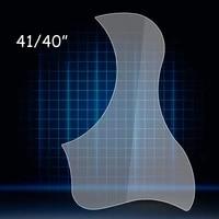 %e2%80%8b36 38 40 41 acoustic guitar clear transparent pickguard pvc guitar guard board sticker basses accessories protect top board