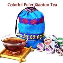 Puer Tea Bag Glutinous Rice Fragrant Puer Tea 250 grams of Yunnan mature Puer Tea