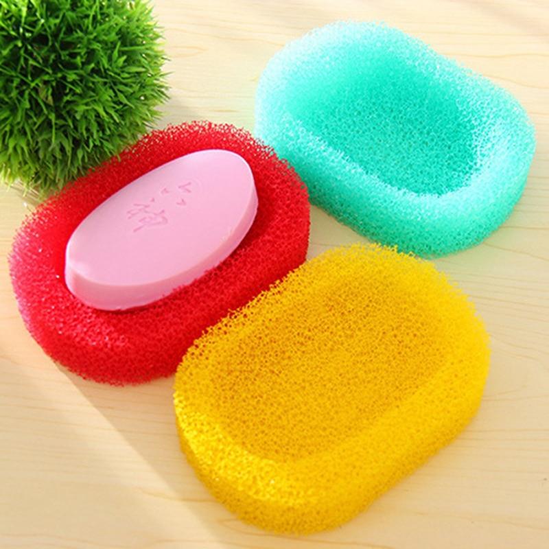 1 soporte creativo para jabón con drenaje, accesorios para baño, fregadero, esponja, drenaje de jabón, caja, caja, molde para jabón, envío directo