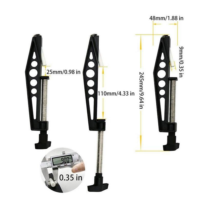Купить с кэшбэком Universal Woodworking Pocket Hole Joints Fixed Clamp Slant Hole  Pull Clip Drill Clip Clamp Slant-hole Drilling Accessories