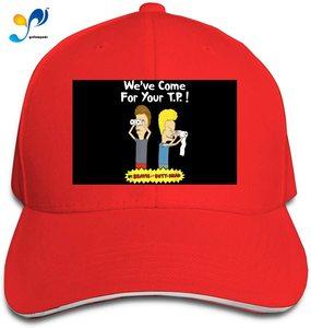 Beavis and Butt-Head Cap Headdress Sandwich Hat Unisex Vogue Sunhat Adjustable Baseball Cap