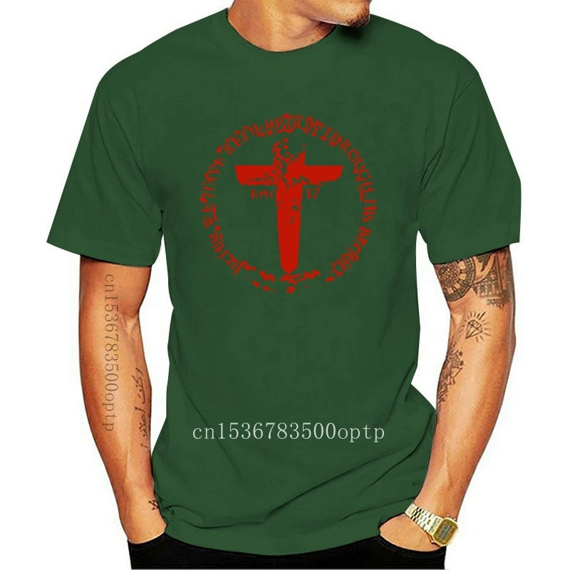 New BLOOD CROSS - LSA APPAREL jesus christ lord - Cotton Unisex T-Shirt