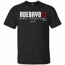 Bam Adebayo T-Shirt #13 Bam Adebayo Basketball Tee Shirt Short Sleeve Vintage Graphic Tee Shirt