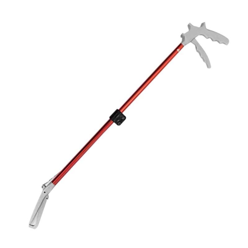 70 cm cobra braçadeira grabber sem bloqueio réptil cobra pinças vara cobra coletor