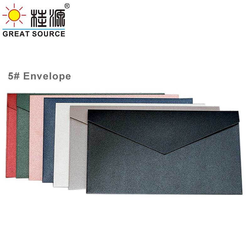 5 # конверт для вечерние ринки, пригласительный конверт, Подарочная карточка, конверт 300 г, цветной жемчужный декоративный бумажный конверт (...