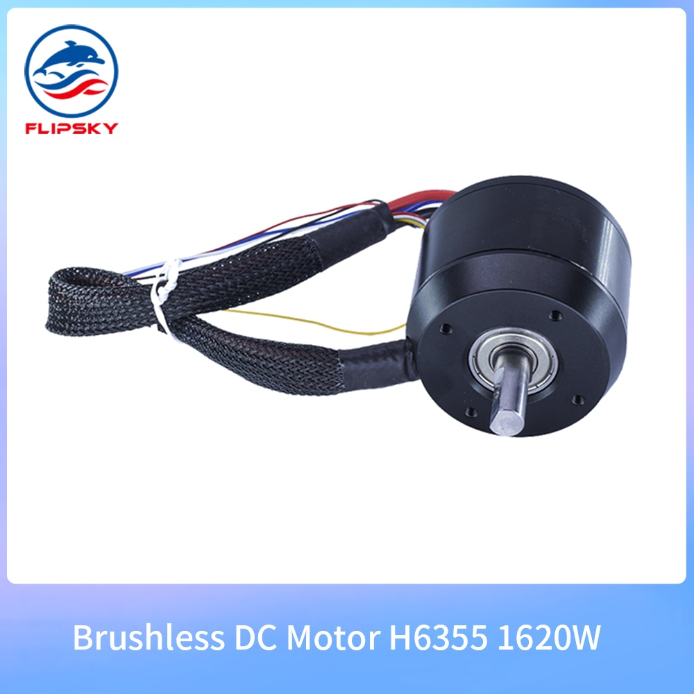 160kv 220kv motor h6355 1620w sensored motor elétrico para skate elétrico/rc boart diy acessórios flipsky