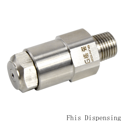 Stainless Steel Atomizing Dedusting and Humidifying Lnn High and Low Pressure Air Nozzle enlarge