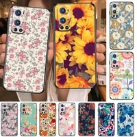 floral beautiful flowers rose sunflower for oneplus nord n100 n10 5g 9 8 pro 7 7pro case phone cover for oneplus 7 pro 17t 6t 5