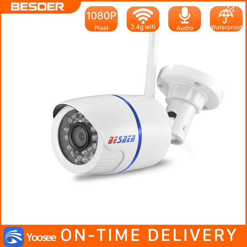 BESDER 720P/1080P Wifi IP Camera Yoosee Outdoor Waterproof Home Security Camera Wireless CCTV Surveillance SD Card Max 128GB