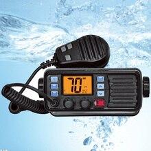 Последняя RS 507MG морская радиостанция диапазона VHF с GPS 25 Вт рация IP67 водонепроницаемая Мобильная Лодка VHF радиостанция