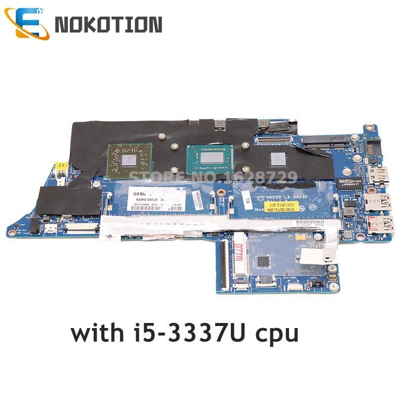NOKOTION VBU50 LA-9511P 713813-501 713813-001 ل HP envy6 اللوحة المحمول SR0XL i5-3337U CPU HD 8750M GPU