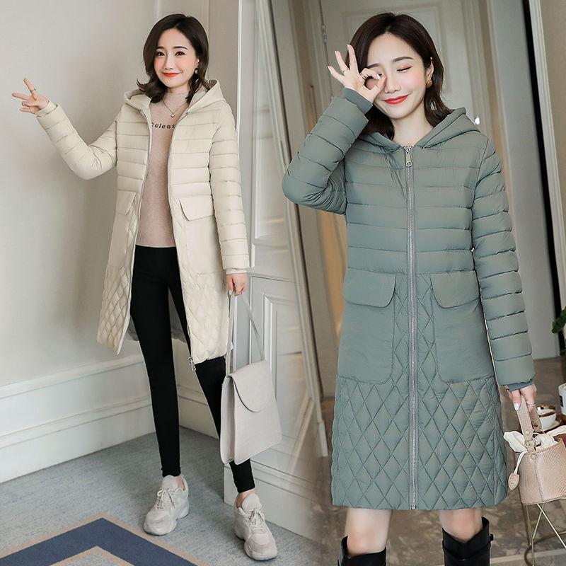 Женская куртка, парка, пальто, внесезонная распродажа, с большими карманами, многоцветная одежда с хлопковой подкладкой, женская одежда для ...