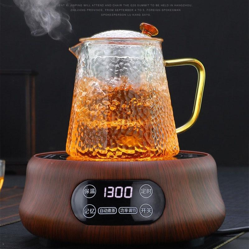 Zk30 لوح تسخين كهربائي سخان كهربائي موقد ماكينة إعداد الشاي الذكية موقد الشاي الماء المغلي متعددة الوظائف فرن المعالجة الحرارية 110 فولت/220 فولت